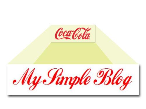 Coca cola logo baru