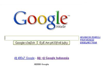 Google haxor