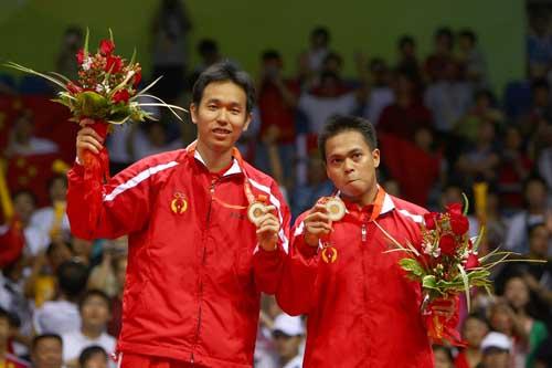 Emas Olimpiade beijing 2008 untuk Indonesia