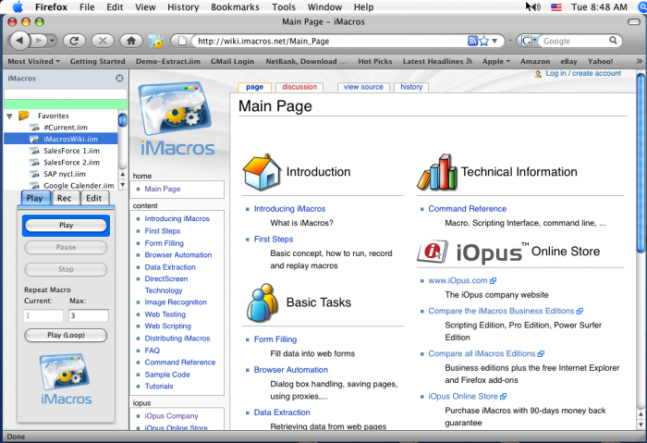 iMacros Firefox Ototmatis script