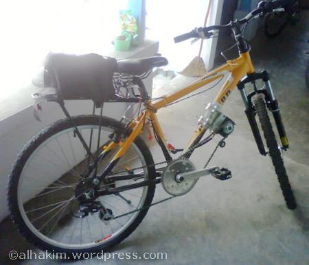 Sepeda Listrik Yang Ringan