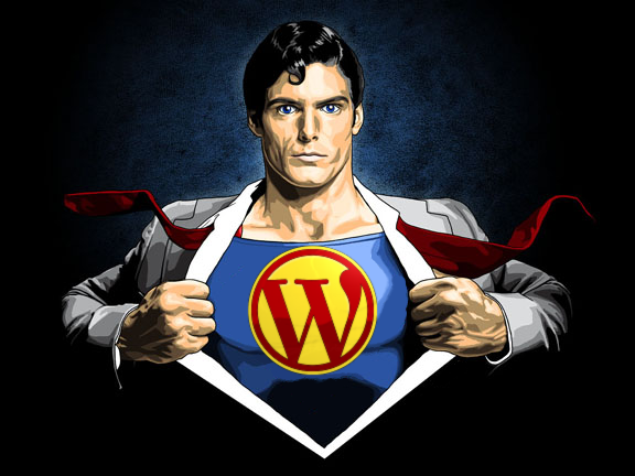 wordpress superhero