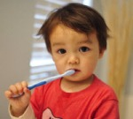 sikat gigi anak kecil