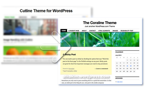 caroline wordpress theme