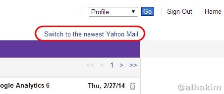 balik ke yahoo mail new