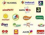 logo operator selular indonesia