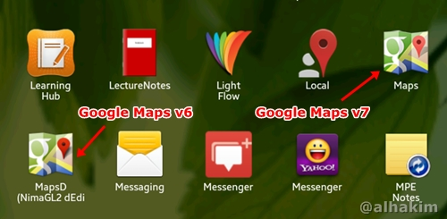 Google Maps v6 installed