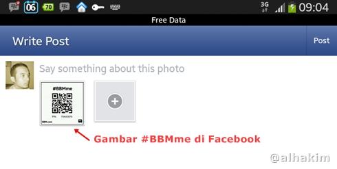 BBMme di Facebook