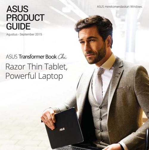Brosur laptop gadget Asus Agustus September 2015
