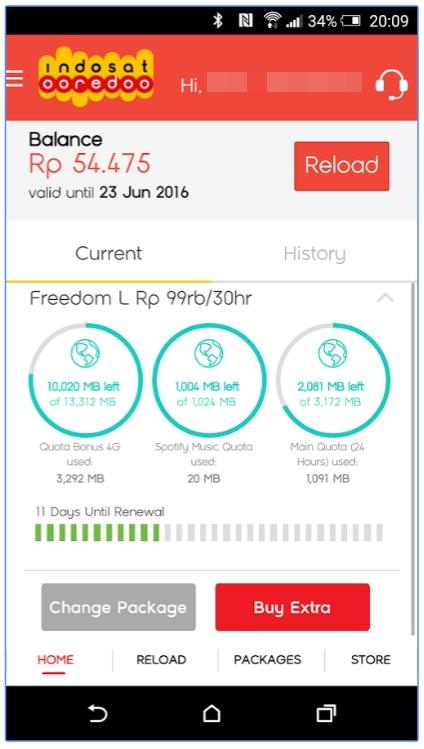 Indosat myCare versi baru